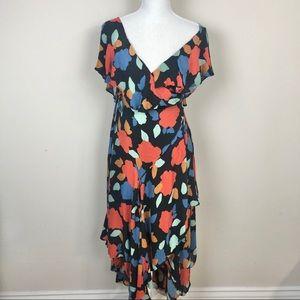 Free People Faye Floral Wrap Dress.